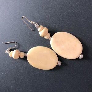 Handmade Non-precious Stone Earrings